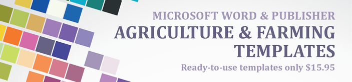 Professional Agriculture and Farming Templates