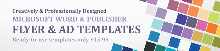 Professional Flyers and Ads Templates