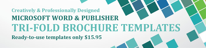 Professional Tri-Fold Brochures Templates